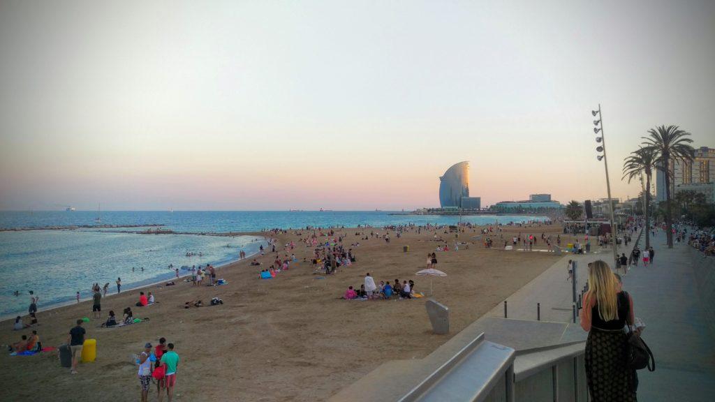 Pláž Barcelonetta