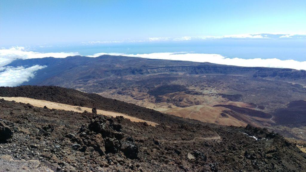 Vrchol El Teide (3 718 m.n.m)